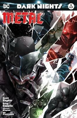 Dark Nights Metal #6 Francesco Mattina Trade Dress Variant Limited To 3000 Dc Nm