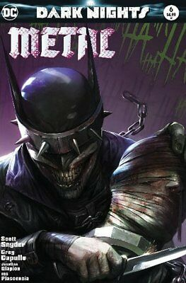 Dark Nights Metal #6 Francesco Mattina Trade Bandage Variant Set Ltd 3000 Dc Nm
