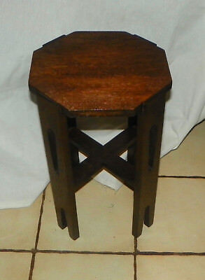 Solid Oak Arts & Crafts Mission Plant Stand  (PS109)