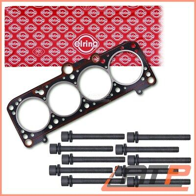 Elring Cylinder Head Gasket Set +Bolt Kit Vw  Golf Mk 1 2 3 1H 1E 1.6 1.8