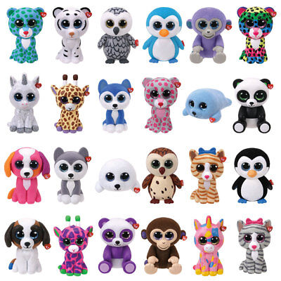 TY Mini Boos Boo Series 1 & 2 Boo Mini Figures - Pick the characters you want