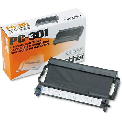 Brother PC-301 Black Toner Cartridge for IntelliFax #PC301