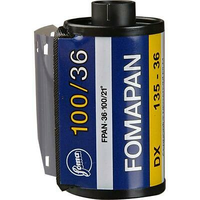 Foma Fomapan 100 Classic 35mm Black and White Negative Film, 36 Exposures