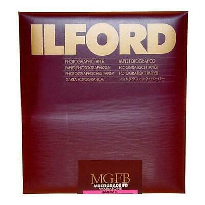 "Ilford Multigrade FB Warmtone VC Enlarging Paper, Semi Matte, 8x10"", 25 Sheets,"