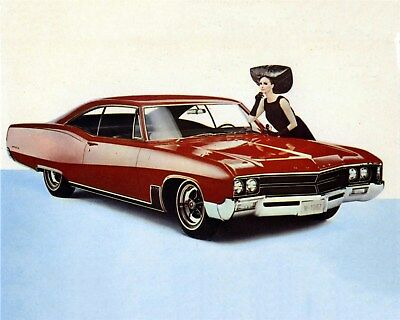 1967 Buick Wildcat Custom Sport Coupe Factory Photo ca9655