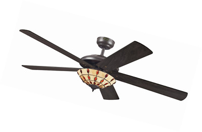 Westinghouse comet ceiling fan white fitting and whitepine blades westinghouse comet tiffany ceiling fan espresso aloadofball Gallery