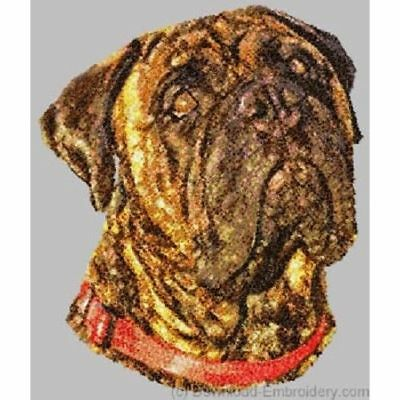 Embroidered Long-Sleeved T-shirt - Bullmastiff DLE1498 Sizes S - XXL
