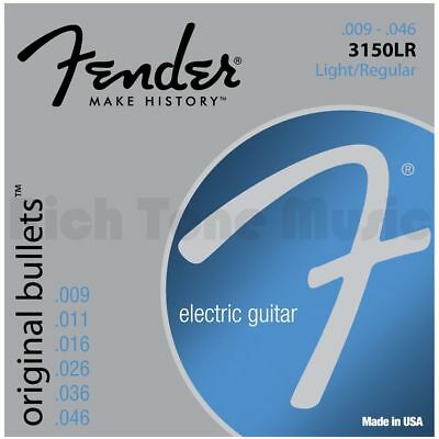 Fender Bullet Guitar Strings Pure Nickel Bullet End 3150LR - .009-.046