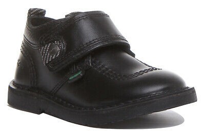 Kickers Adlar Stralo Kids Leather VStraps Back to School Shoes Uk Size