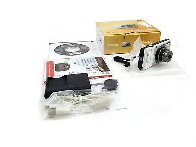 Canon Powershot A2300 Digital Cameras HD 16 Megapixel Silver With Battery Charge