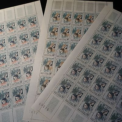 Morocco Morocco N°431/433 Sheet Sheet 25 Neuf Luxe Mnh Value