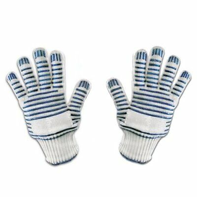 Amazing Heat Resistant Oven Bbq Glove With Fingers Left Right Hand Single / Pair