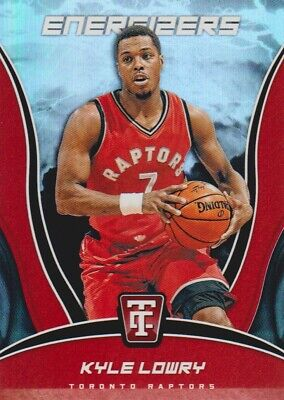 2017-18 Totally Certified Basketball Energizers #4 Kyle Lowry Toronto Raptors