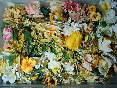 Loose silk flowers gallery flower decoration ideas huge 1 pound lot of loose silk flowers a massive collection of all huge 1 pound mightylinksfo Gallery