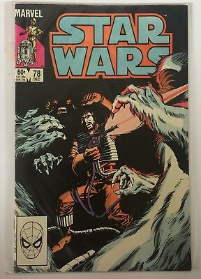 Star Wars US Marvel Comics Number 78 December 1983 Vintage Comic Book