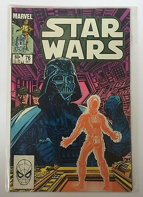 Star Wars US Marvel Comics Number 76 October 1983 Vintage Comic Book