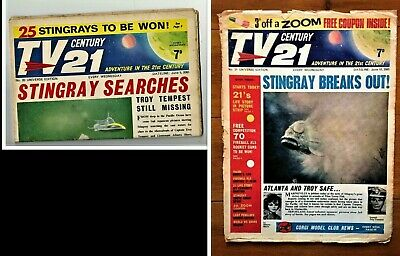 TV CENTURY 21 # 20 June 5 1965/2065 Stingray/Daleks/Fireball xl5/Lady Penelope