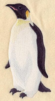 Large Embroidered Zippered Tote - Penguin C6572