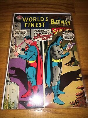 Worlds Finest #171 Batman Superman Bagged & Boarded Silver Age Comic