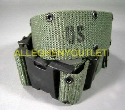 US Military WEB Belt Pistol Utility Belt Duty Belt LC-2 Quick Release LARGE EXC