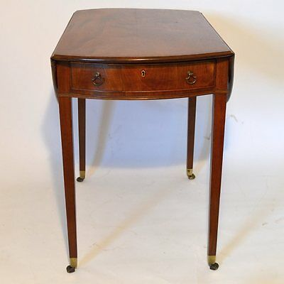 Late Georgian Mahogany Pembroke Antique Table  c1810