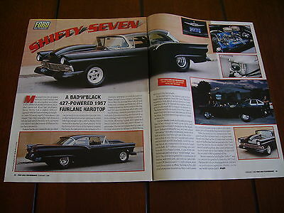 1957 Ford Fairlane Pro Street Hot Rod ***original Article***