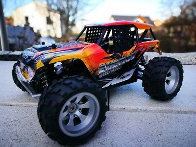 RC Monster Truck RAPTOR 4WD Allrad ferngesteuertes Auto Buggy RTR 2,4 Ghz.