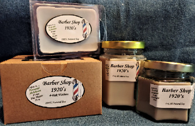 **NEW** Hand Poured Masculine Scents Soy Candles Tarts /& Votives Bacon