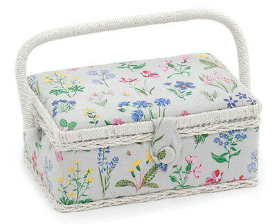 Spring Garden Small Sewing Box Sewing Basket (d/w/h): 24 x 16 x 11cm