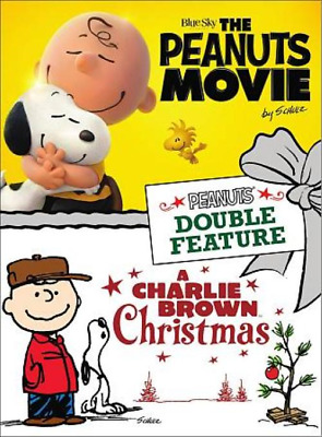 The Peanuts Movie/a Charlie Brown Christmas New Dvd Free Shipping!!
