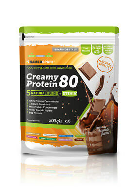 NAMED SPORT® - CREAMY PROTEIN 80 - EXQUISITE CHOCOLATE - 500g - SCAD. 31/03/20