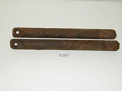 2 Antique 7 Lb Cast Iron Window Sash Counter Weights