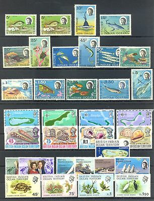 English Colony British Indian Ocean Territory 66 St. ** Mnh Vf