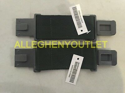 "Military LBV ALICE Web Belt Extender 6"" Pistol Belt Extender GRAY CLIP QTY 2 NEW"
