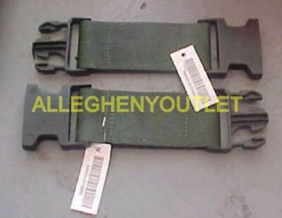 """Individual Equipment Belt 6"""" Extender (2) LC-2 - US Military Utility Pistol NWT"""