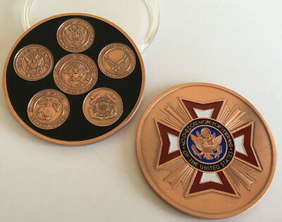 USA NAVY VETERANS Coins Commemorative Collectibles Souvenir BADGE Coin