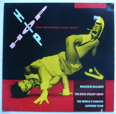 V.A. - Hip-Hop - The original and best - LP > Malcolm McLaren, Rock Steady Crew