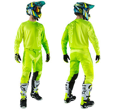 Troy Lee Designs GP AIR Combo 50/50 gelb neon Hose Shirt Enduro Motocross