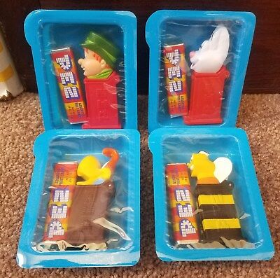 2001 General Mills cereal premium PEZ dispensers MIP TRIX, LUCKY CHARMS ++