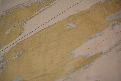 Lake Superior Isle Royal Nautical Chart Map 14976 1983