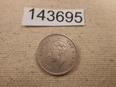 1951 Seychelles 25 Cents - Unslabbed Very Nice Collector Grade Coin - # 143695