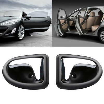 1 Pair Left Right Internal Door Handle for Renault for Clio Megane Scenic Trafic