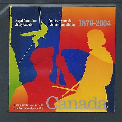 Canada Booklet 2004 Army Cadets #BK286 MNH ** Free Shipping **