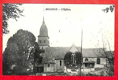 """76 Beaunay Cpa """" Eglise """""""