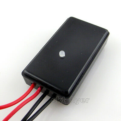 Black DC 5V-18V Solar Light Control Switch Controller Day Work/ Night Off B Typ