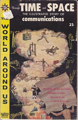 "Classics Illustrated The World Around Us 1960  ""TIME & SPACE"" 20 Communications"