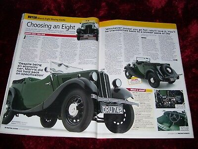 Practical Classics Magazine September 2006...morris Eight Buying Guide.