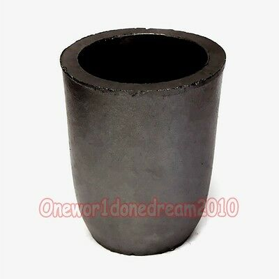 4 KG Clay Graphite Foundry Crucible Melting Furnace Refining Gold Silver Copper
