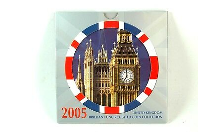 2005 United Kingdom Brilliant Uncirculated Coin Collection