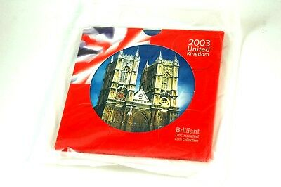 2003 United Kingdom Brilliant Uncirculated Coin Collection